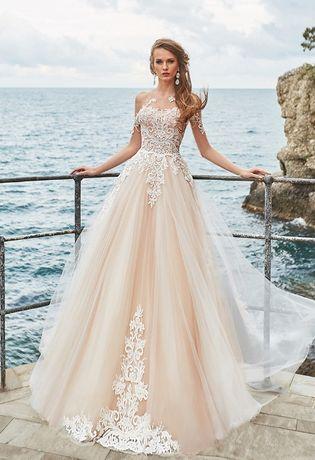 suknia ślubna S + welon 3m