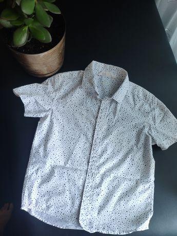 Рубашка с короткими рукавами, 5-6 лет. H&M