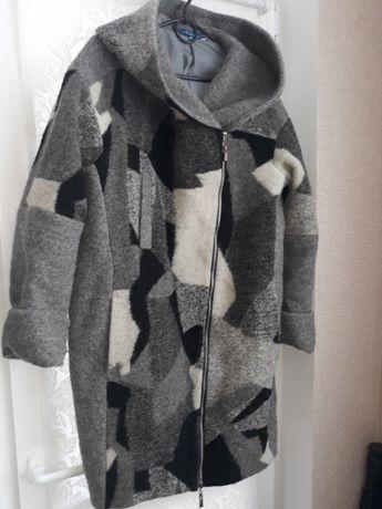 Стильное шерстяное пальто! Отличный подарок себе любимой!