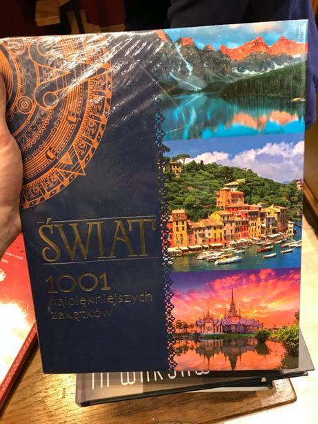 Świat 1001 najpiękniejszych zakątków NOWA album zafoliowana
