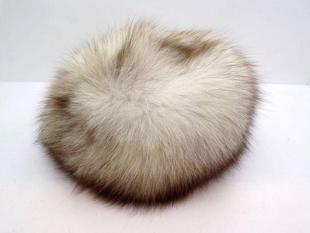 Futrzana czapka - futro naturalne