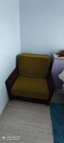 Sofa fotel rozkładany jednoosobowy
