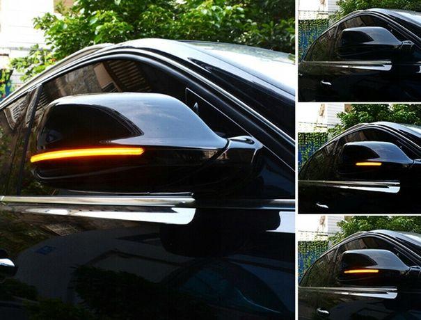 Audi Q5 Q7 4L kierunkowskazy dynamiczne pływające w lusterka