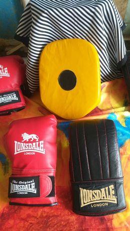 The original Lonsdale London перчатки бокс.