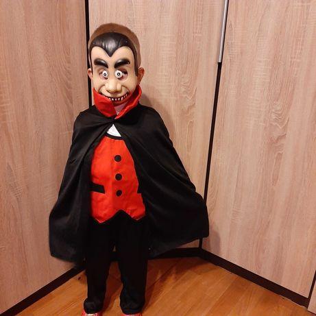 Hrabia Dracula przebranie na balik Halloween gratis maska