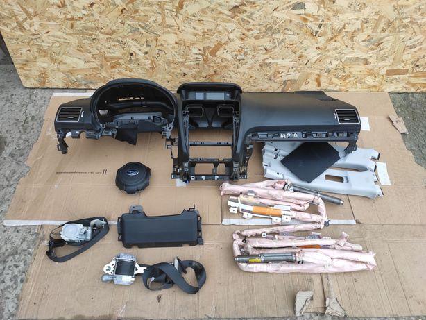Subaru Forester 4 IV 15-18 торпедо безопасность комплект airbag