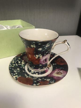 Чайный набор (чашка и блюдце)