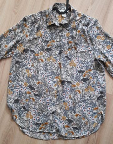 Koszula w kwiaty H&M r. 34