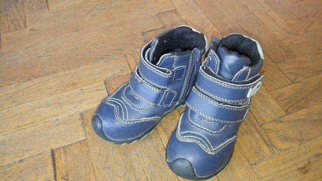 Демисезонные детские ботинки мальчик БУ