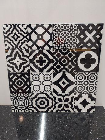 OBI Panel szk.Patchwork black 2 ESG 60x60 OBNIŻKA z 129 na 90,30