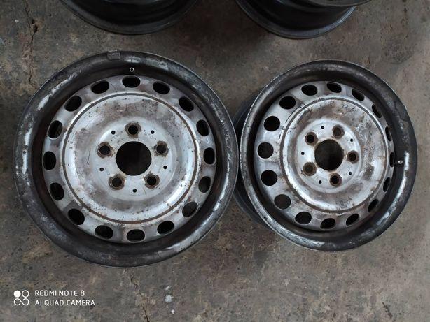 Металеві диски R15 5*112 Vito 638 стальные диски Р15 5*112