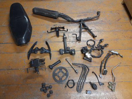 Zipp Shock 50 części motorower x-one