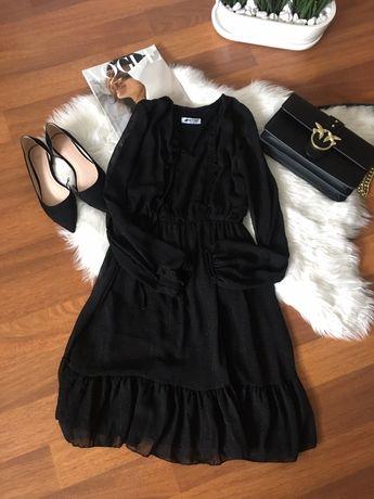 Czarna sukienka Moose 36/38