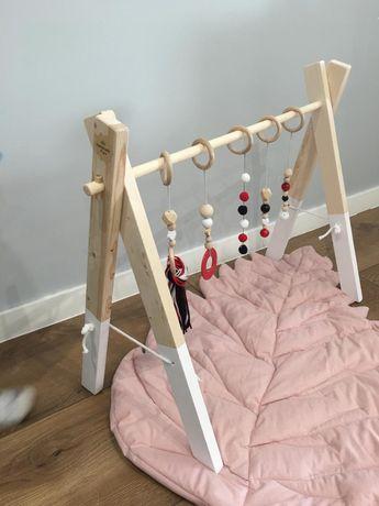 Nowy stojak edukacyjny baby gym Wysoki szeroki 72 cm