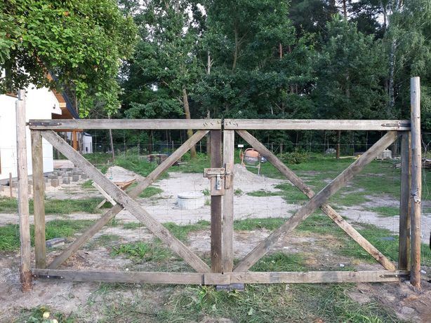 Brama budowlana 4m