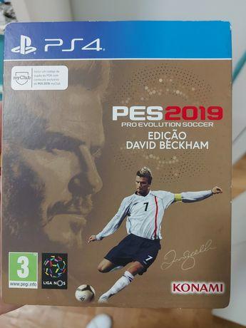 PES 2019 - Edicao David Beckham - PS4