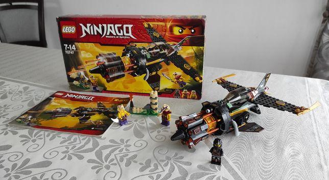 LEGO 70747 Ninjago - Kruszarka skał, KOMPLET