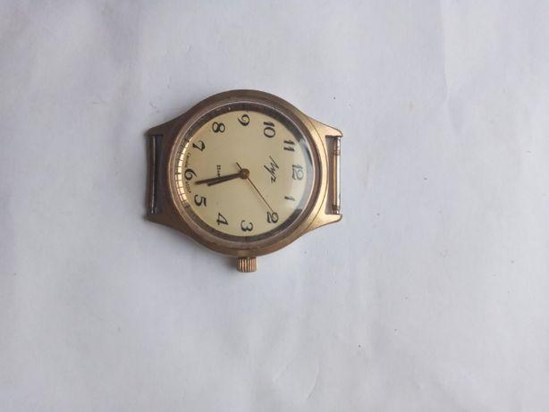 Советские позолоченные часы Луч, полностью рабочие!