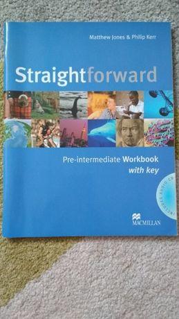 Straightforward pre-intermediate ćwiczenia, zeszyt ćwiczeń Macmillan