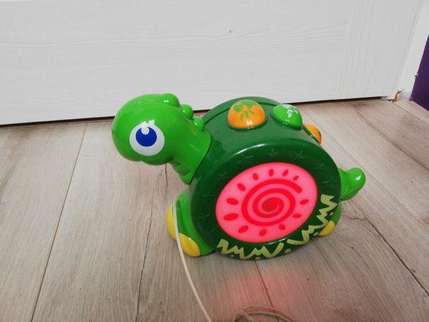 Żółw interaktywny dla maluszka