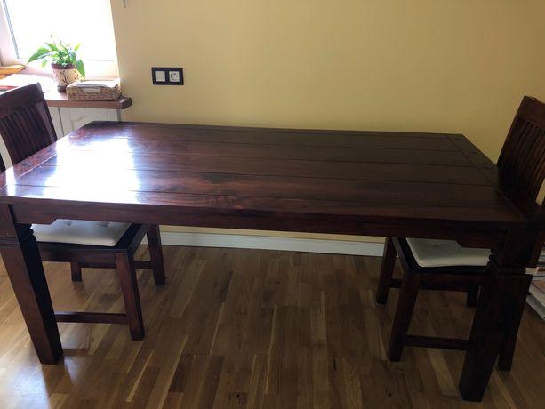 Stół i 4 krzesła (komplet)