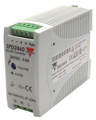 Источник питания Carlo Gavazzi SPD24601 (24VDC / 60W / 2.5 A)Италия