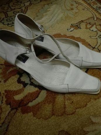 Buty ślubne - skóra