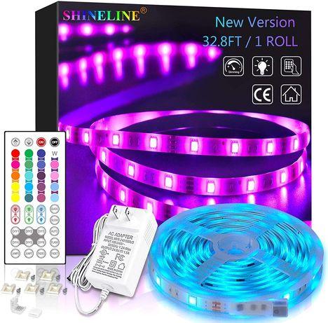 Умная RGB LED лента 12,2м  Shineline приложение