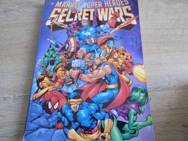 Komiks Marvel Super Heroes Secret Wars