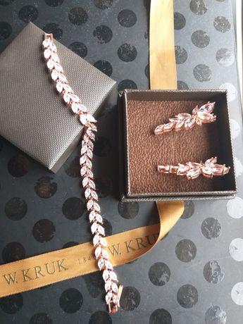 Biżuteria ślubna Rose gold