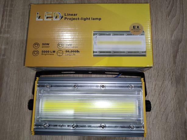 Halogen Naświetlacz Liniowy 50w LED COB 5000lm