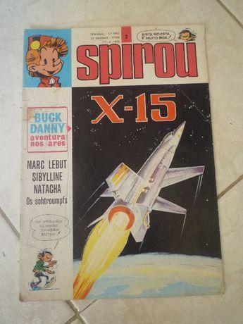 Livro de Banda Desenhada, Spirou - X-15, nº 2, capa mole, usado.
