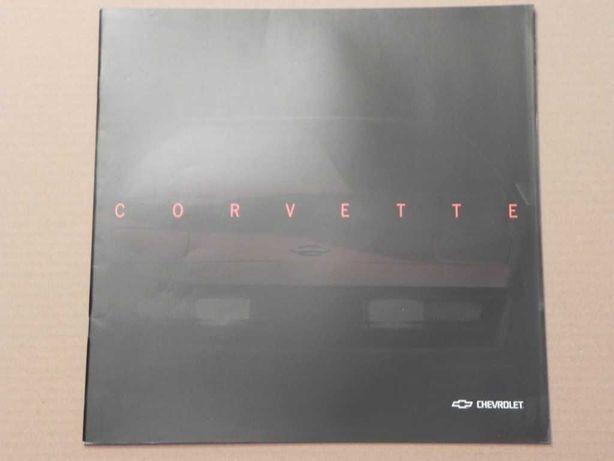 Prospekt - CHEVROLET CORVETTE C4 - 199? r