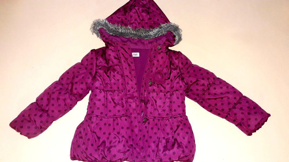 Тепла куртка f&f на 3-4 роки на флісі Ужгород - изображение 1