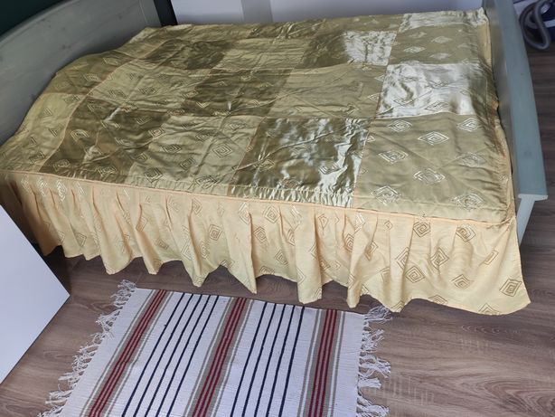 Narzuta na łóżko+2 zasłony