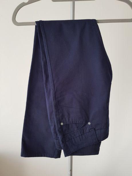 Spodnie Vero Moda granatowe eleganckie