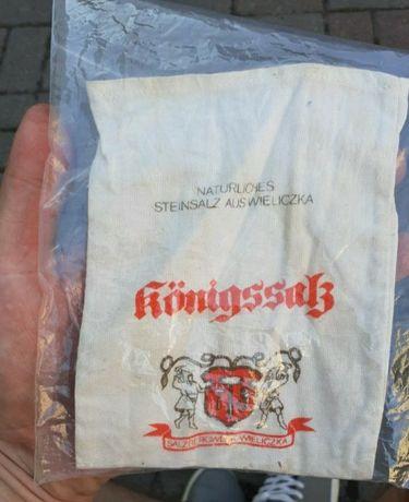 Stary woreczek po soli z Wieliczki 2 wojna światowa