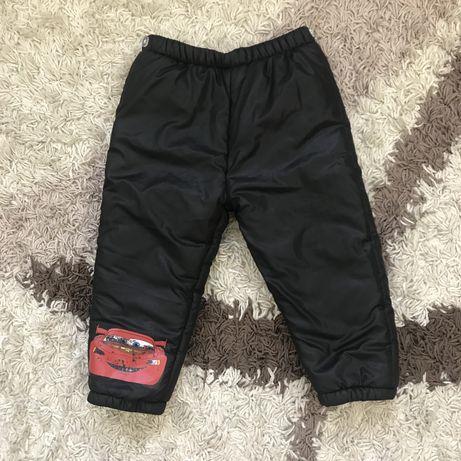 Теплые штаны размер 3-4 года