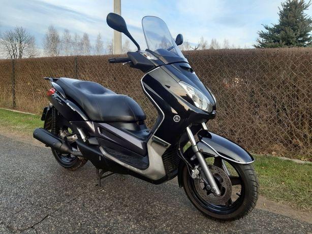 Yamaha X-max 250, transport