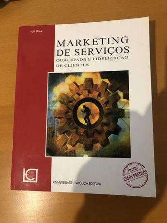 Marketing de Serviços Livro Luís Saias