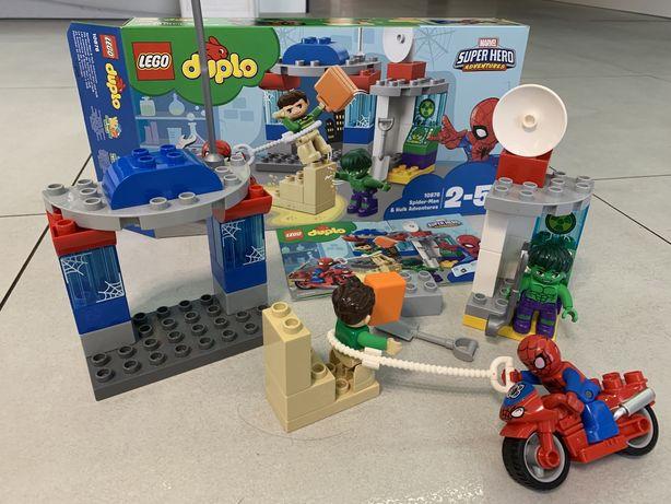 Lego Duplo 10876 hulk spiderman
