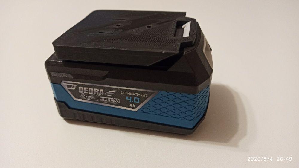 Uniwersalny adapter do DEDRA 18V SAS+ALL
