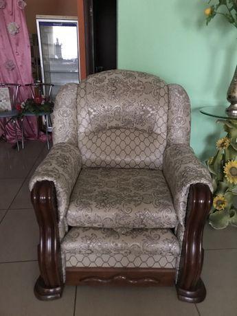 Раскладное кресло в стиле барокко