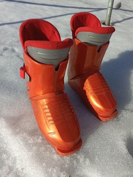 Buty narciarskie 230mm dla przedszkolaka