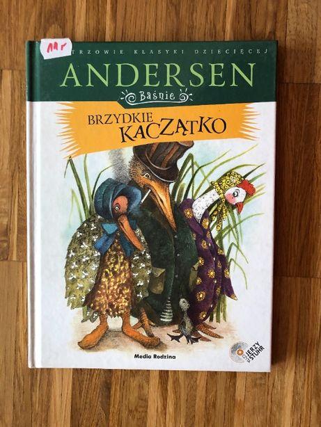 "Książka ""Brzydkie Kaczątko"" Andersen + audiobook"