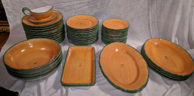 Parte Serviço Jantar Cerâmica Solimene Vietri 6