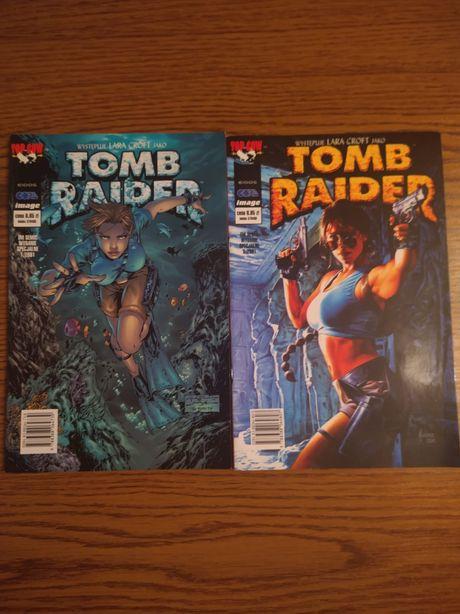 Komiksy Tomb Raider