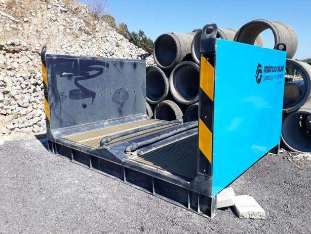 Lavadora de Pneus de Camiões com Reciclagem de Água