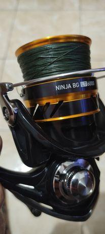 Carreto daiwa ninja BG LT 6000