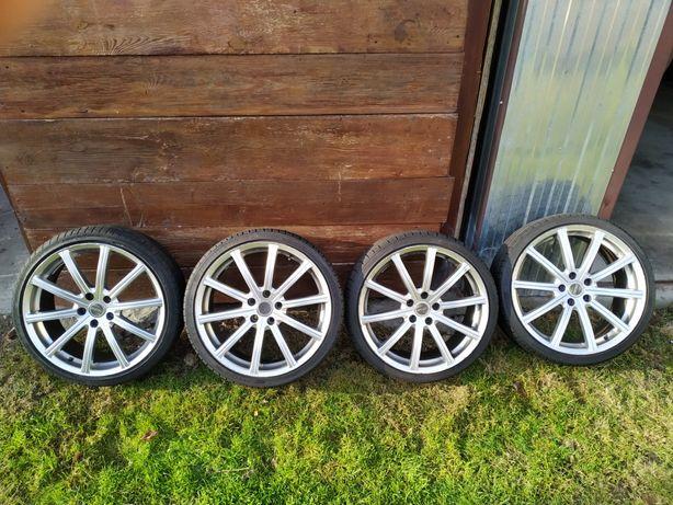 "Felgi aluminiowe Mega Wheels 19"" 5x112 ET 35 Audi Vw Mercedes piękne"